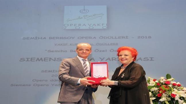 Semiha Berksoy Özel Ödülü Siemens'in!