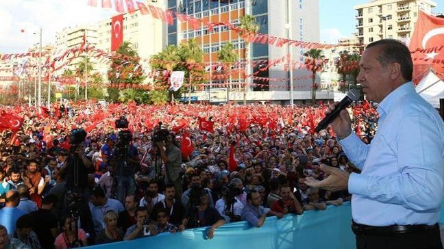 Cumhurbaşkanı Erdoğan, Kartal mitinginde konuştu