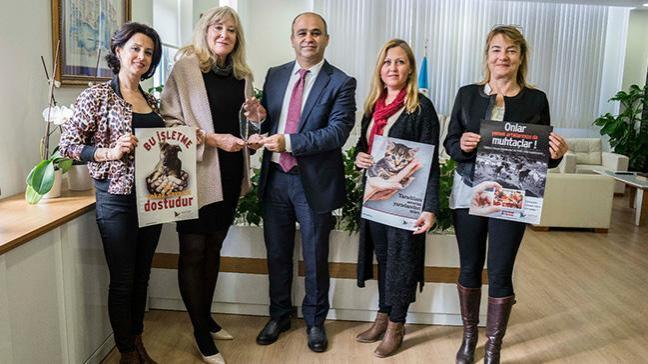 İzmir il Milli Eğitim Müdürlüğünden hayvan hakları ve hayvan sevgisi ile önemli çalışma