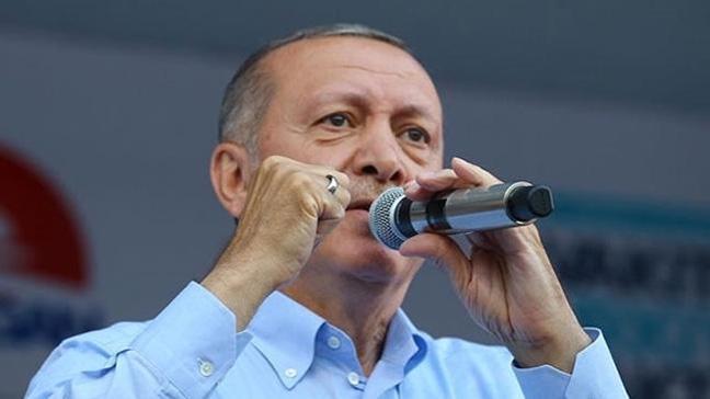 Cumhurbaşkanı Erdoğan: 24 Haziran aynı zamanda 2019 yerel seçiminin işaret fişeğidir