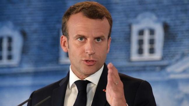 Macron'a soğuk duş! İşçiler sarayının gazını kesti