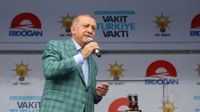 Cumhurbaşkanı Erdoğan: Biz icazeti milletten aldık Selo'dan değil