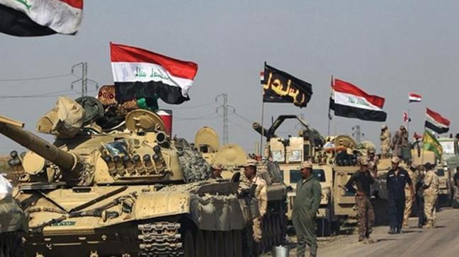 Irak ordusu terör örgütünün 'liderler toplantısını' vurdu