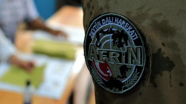 Afrin'de görev yapan askerler oy kullandı