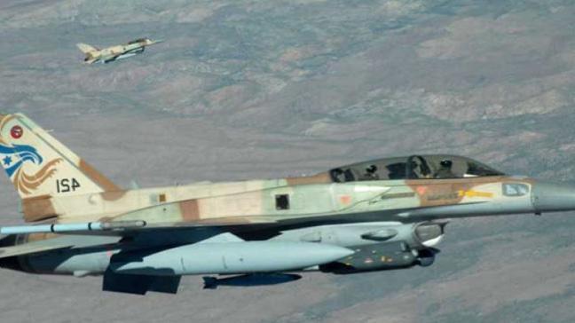 İsrail savaş uçakları, Hamas'a ait gözlem noktasına 2 roket fırlattı
