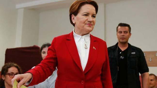 Akşener'in oy kullandığı sandıktan en çok oy Erdoğan'a çıktı