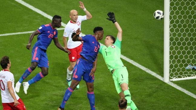 Kolombiya çok rahat! Polonya erken avlu attı 3-0