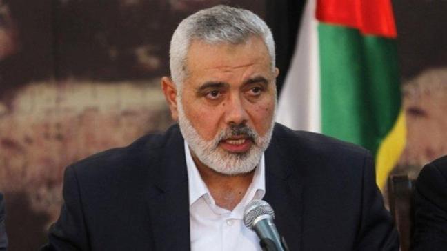 Hamas liderinden Erdoğan'a tebrik