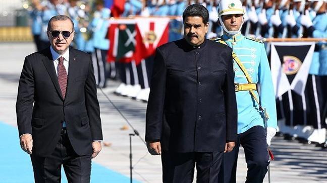 Maduro: Ülkemin kardeşi Erdoğan muazzam bir zafer kazandı, tebrik ediyorum