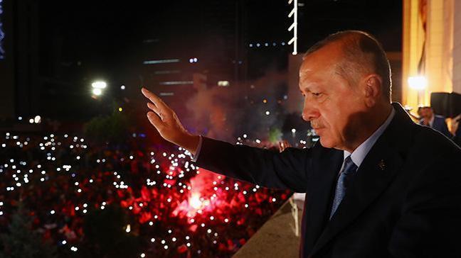 Harranlılar Cumhurbaşkanı Erdoğan'a geleneksel desteğini sürdürdü
