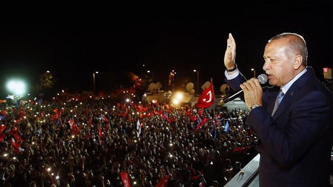 Barzani ve Resul'den Cumhurbaşkanı Erdoğan'a kutlama