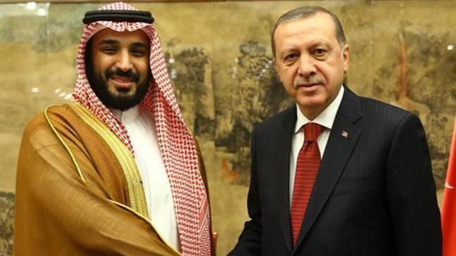 Suudi Arabistan Veliaht Prensi Muhammed bin Selman'dan Erdoğan'a tebrik