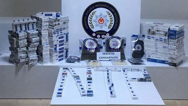 Samsun'da düzenlenen uyuşturucu operasyonunda gözaltına alınan bir şüpheli tutuklandı