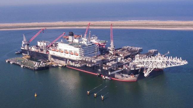 Pioneering Spirit, TürkAkım'ın ikinci hattının yapımına yeniden başladı