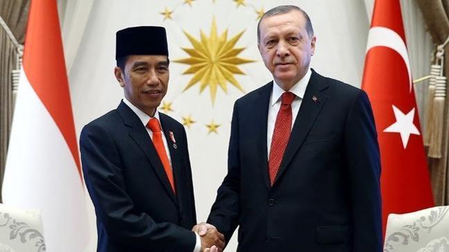 Endonezya Cumhurbaşkanı Widodo'dan Cumhurbaşkanı Erdoğan'a tebrik telefonu