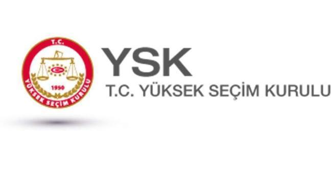 YSK kesin olmayan sonuçları açıkladı