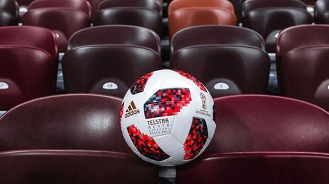 Dünya Kupası'nda Play-Off turunda kullanacak top tanıtıldı