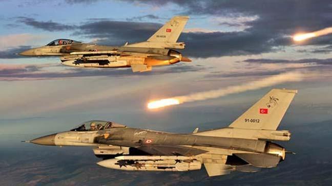 Kuzey Irak'a hava harekatı! Sinat, Haftanin, Metina ve Gara'da terör hedefleri imha edildi