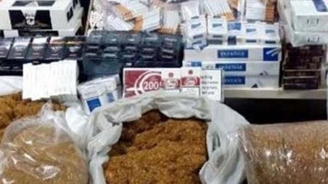 Kayseri'de 3 ton 750 kilogram kaçak tütün ele geçirildi