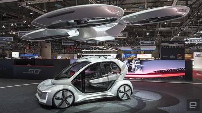 Airbus ve Audi'nin ortak projesi uçan taksi test sürüşlerine başlıyor