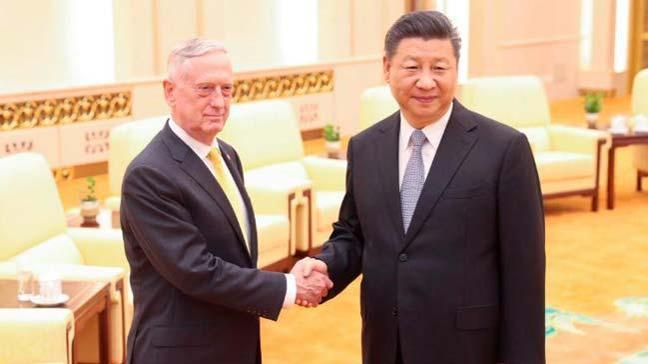 Mattis-Şi görüşmesi: 'Çin, bir karış toprağını bile vermeyiz'