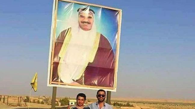 Terör örgütü PKK, Öcalan'ı Arap kılığında göstererek bölge halkını yanına çekmeye çalışmış