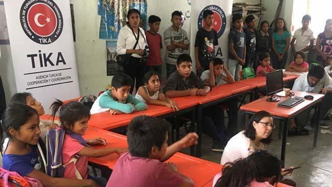 TİKA'dan Meksika'ya eğitim desteği