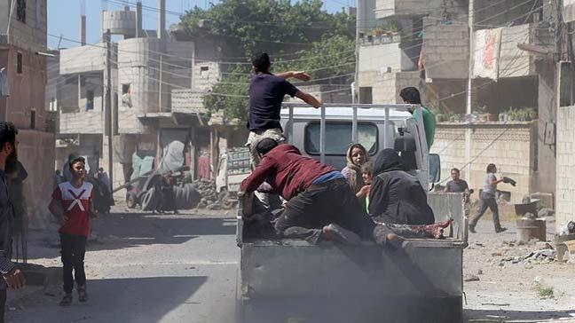 Esed rejimi Dera'da son iki günde 54 sivili öldürdü