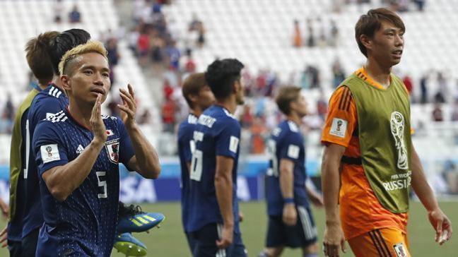 Japonya Polonya'ya 1-0 yenilmesine rağmen adını bir üst tura yazdırdı