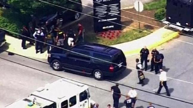 ABD'de gazete binasına silahlı saldırı: 5 kişi hayatını kaybetti