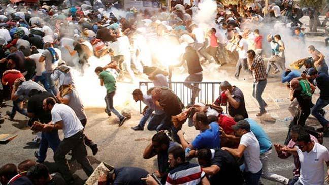 İsrail askerleri, işgal altındaki Batı Şeria'da Filistinlilerin düzenlediği gösterilere müdahale etti