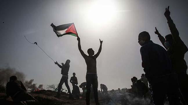 Gazze'deki Büyük Dönüş Yürüyüşü gösterileri devam ediyor