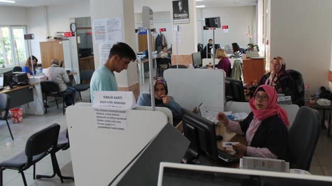Hatay'da 6 Nüfus Müdürlüğü hafta sonunda açık olacak