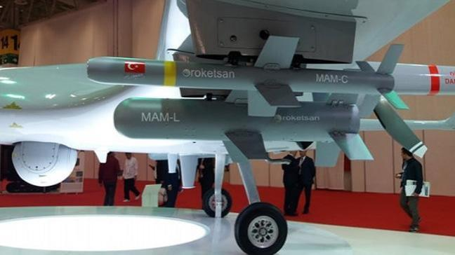 Kara Kuvvetlerine 30 adet MAM-C yerli mühimmat teslim edildi