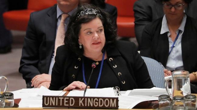 İngiltere BM Daimi Temsilcisi Pearce: Husiler füzeleri İran'dan getirdi