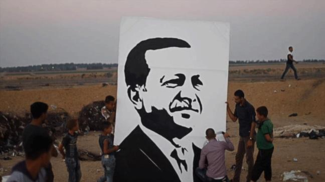 Gazze sınırında Erdoğan'ın seçim zaferi kutlandı