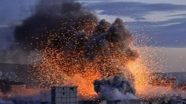 Erbil'de cephaneliktede patlama