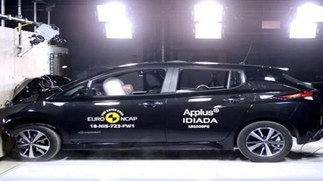 Elektrikli Nissan Leaf EuroNCAP'ten 5 Yıldız Aldı!