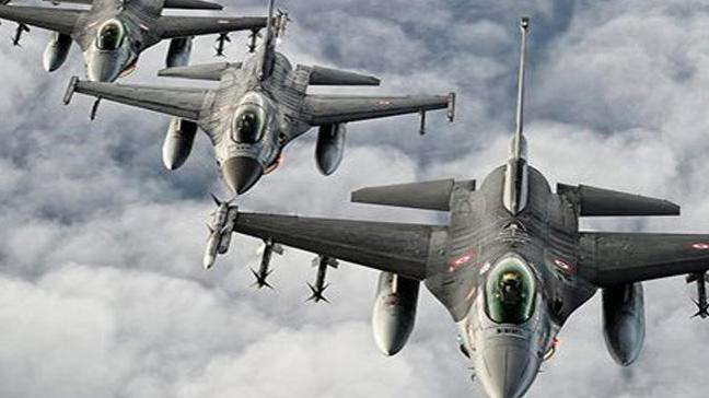 K. Irak'a hava operasyonu: 4 terörist öldürüldü