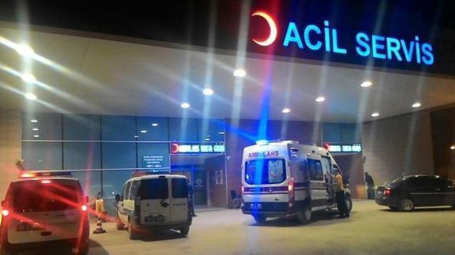 Karaman'da askeri araç şarampole düştü: 2 yaralı