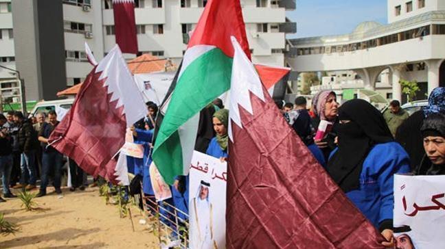 Katar'dan Gazzeli öğrencilere 50 milyon riyal yardım