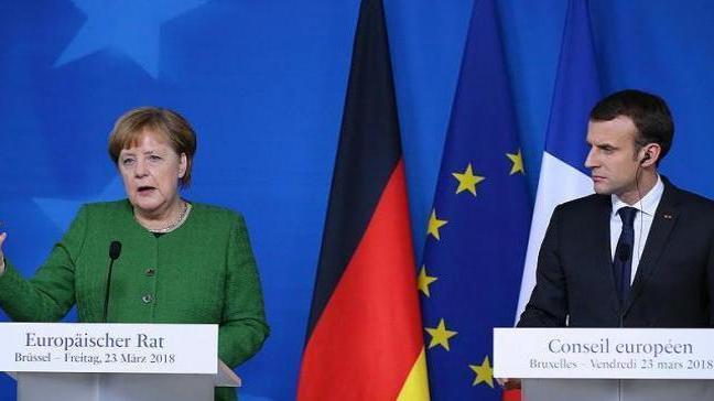 Almanya ve Fransa, Avrupa'nın 'ortak sanayi politikası' için  anlaştı