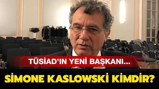 """TÜSİAD'ın yeni başkanı Simone Kaslowski kimdir"""""""