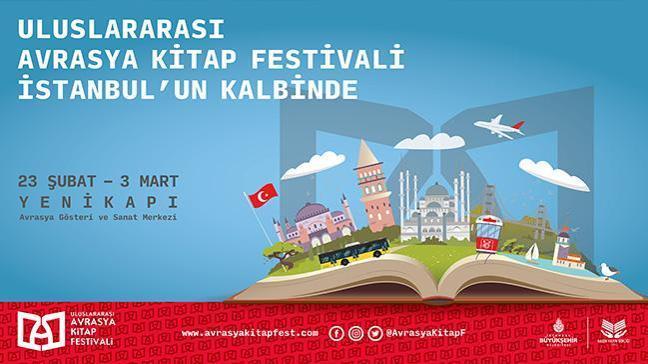 """İBB'nin ev sahipliğini yaptığı """"1. Uluslararası Avrasya Kitap Festivali"""" başlıyor"""