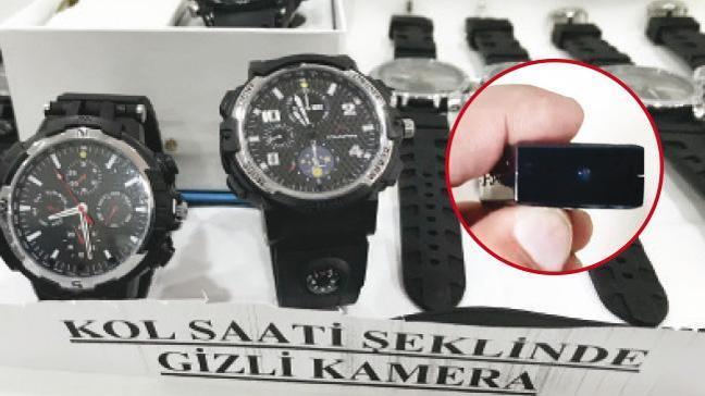 Gizli kameralı 521 kaçak ürüne el konuldu