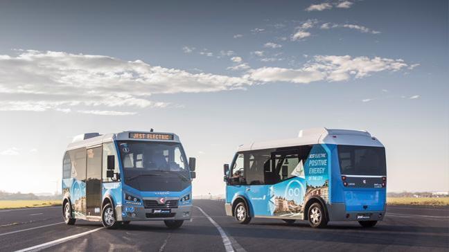 Yerli marka Karsan Türkiye'den Avrupa'ya elektrikli minibüs ihraç ediyor