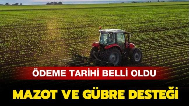 """Mazot ve gübre desteği 2019 ne zaman verilecek"""""""