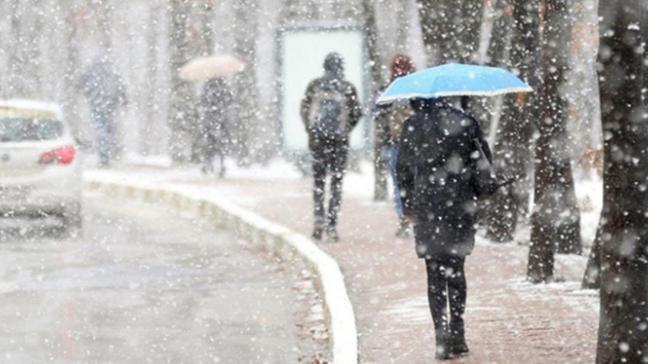 Meteoroloji yağmur ve kar uyarısında bulundu