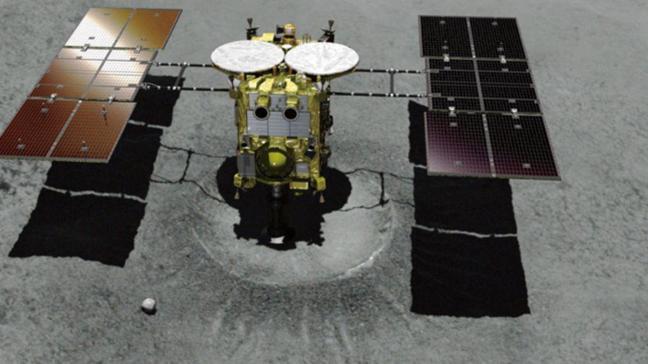 Japon uzay aracı bu gece asteroidin yüzeyine inecek
