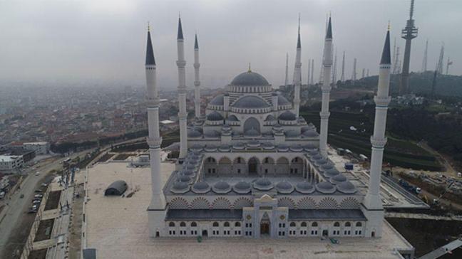 Çamlıca Camii 7 Mart'ta ibadete açılıyor